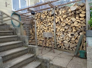 ultimate fire wood shed